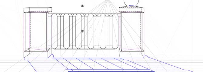 perspektive in der wandmalerei. Black Bedroom Furniture Sets. Home Design Ideas